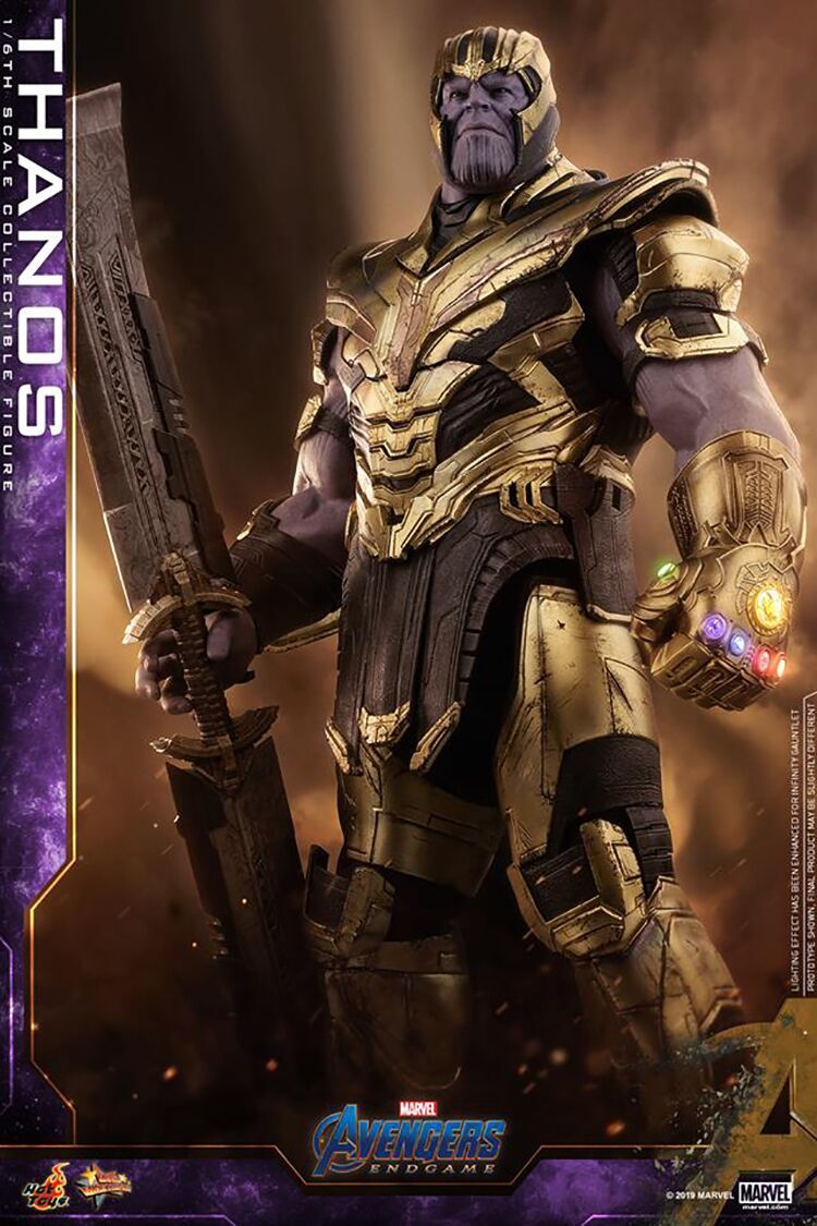 新品 未開封 Hottoys ホットトイズ 1/6 スケールフィギュア アベンジャーズ エンドゲーム Avengers Endgame サノス Thanos MMS529 _画像4