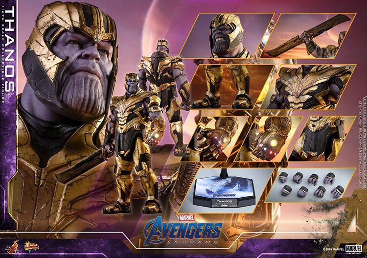 新品 未開封 Hottoys ホットトイズ 1/6 スケールフィギュア アベンジャーズ エンドゲーム Avengers Endgame サノス Thanos MMS529 _画像1
