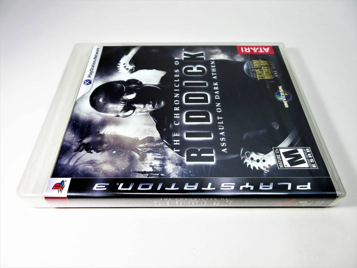 【新品未開封】【日本未発売 北米版 PS3】The Chronicles of Riddick: Assault on Dark Athena【オリジナル版】国内PS3本体で動作可 Atari_画像3