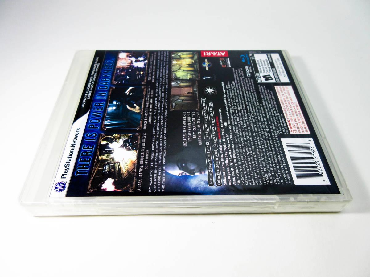 【新品未開封】【日本未発売 北米版 PS3】The Chronicles of Riddick: Assault on Dark Athena【オリジナル版】国内PS3本体で動作可 Atari_画像4