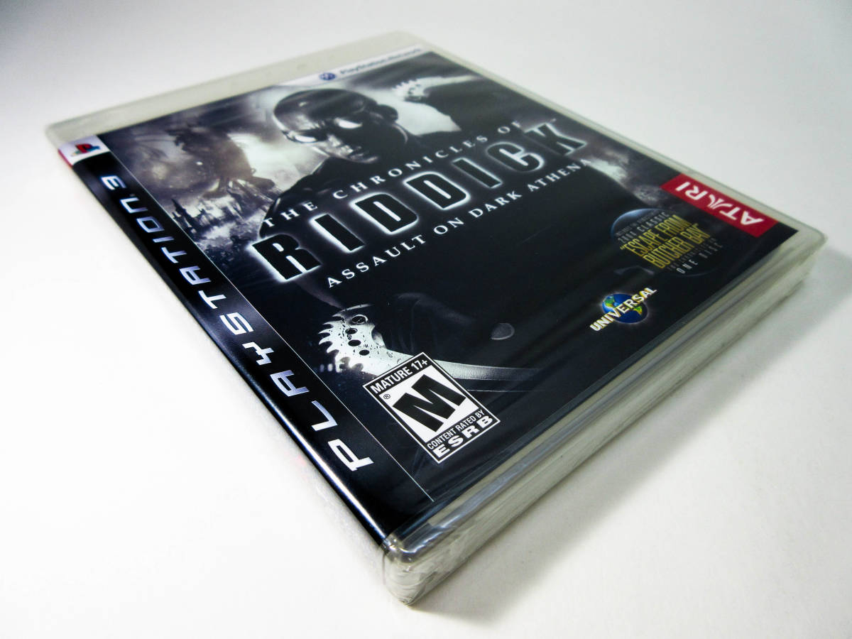 【新品未開封】【日本未発売 北米版 PS3】The Chronicles of Riddick: Assault on Dark Athena【オリジナル版】国内PS3本体で動作可 Atari_画像5