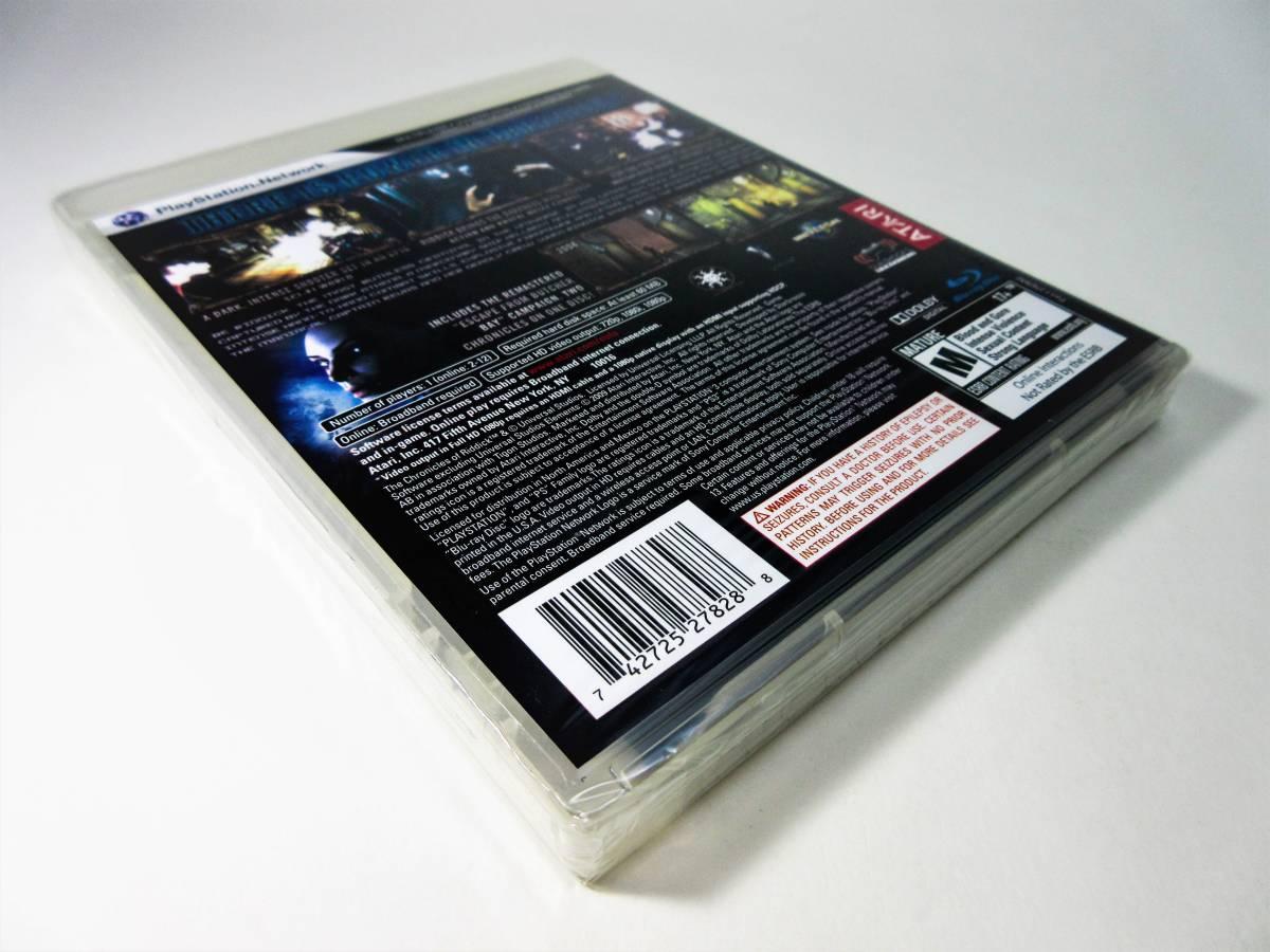 【新品未開封】【日本未発売 北米版 PS3】The Chronicles of Riddick: Assault on Dark Athena【オリジナル版】国内PS3本体で動作可 Atari_画像6