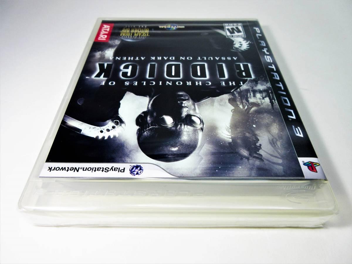 【新品未開封】【日本未発売 北米版 PS3】The Chronicles of Riddick: Assault on Dark Athena【オリジナル版】国内PS3本体で動作可 Atari_画像7