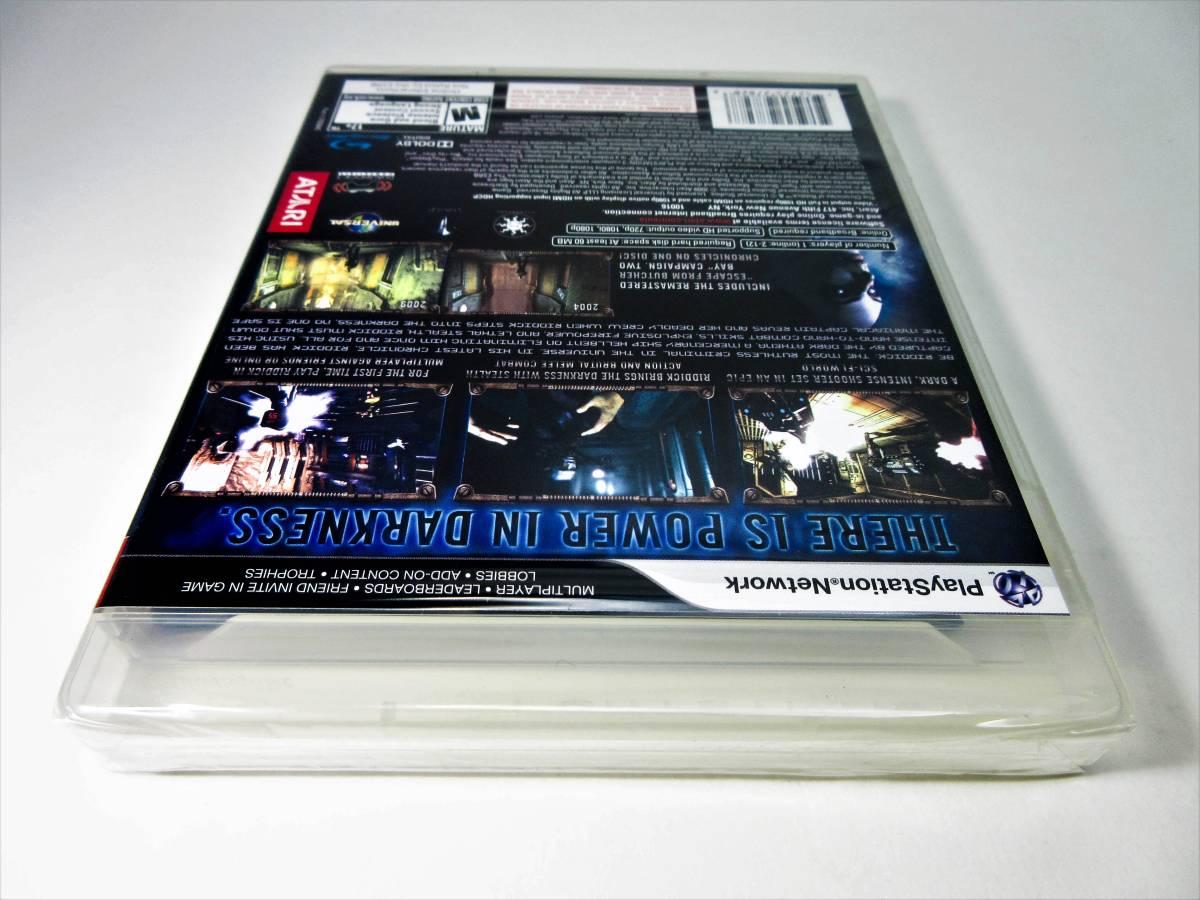 【新品未開封】【日本未発売 北米版 PS3】The Chronicles of Riddick: Assault on Dark Athena【オリジナル版】国内PS3本体で動作可 Atari_画像8
