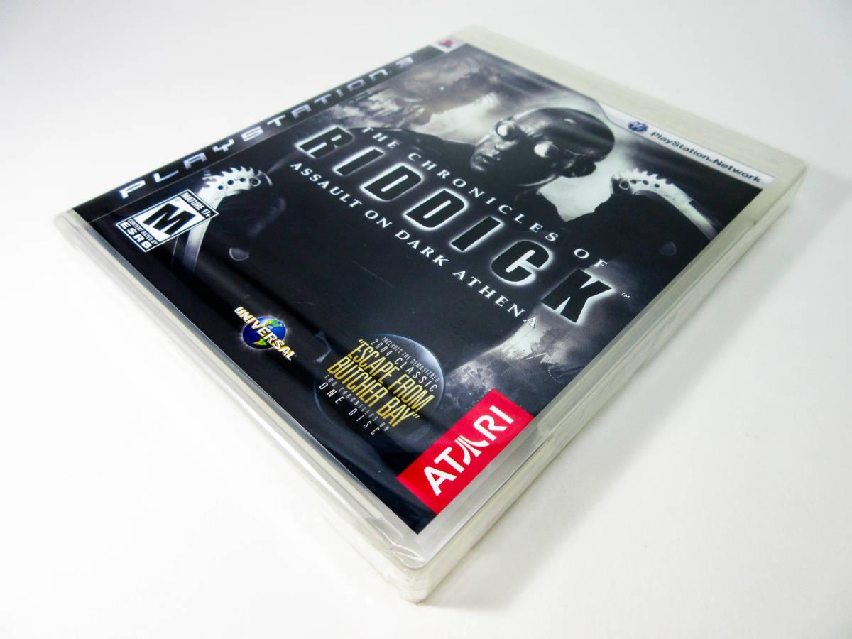 【新品未開封】【日本未発売 北米版 PS3】The Chronicles of Riddick: Assault on Dark Athena【オリジナル版】国内PS3本体で動作可 Atari_画像10