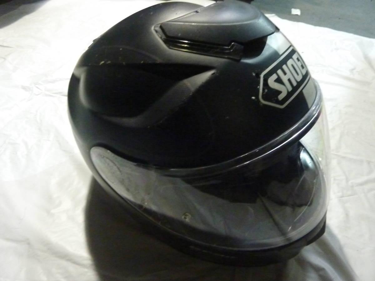 SHOEI フルフェイスヘルメット GT-Air Mサイズ ブラック_画像3
