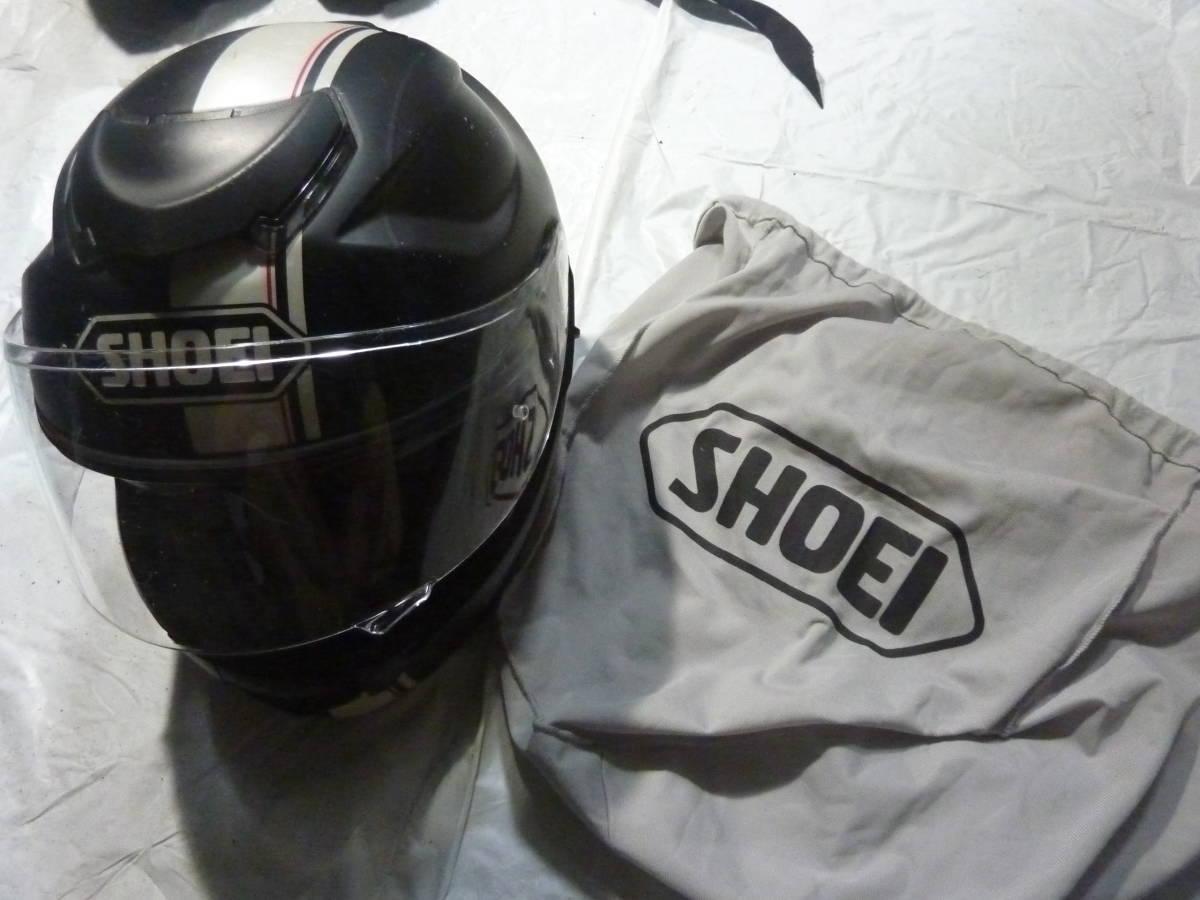 SHOEI フルフェイスヘルメット GT-Air Mサイズ ブラック_画像1