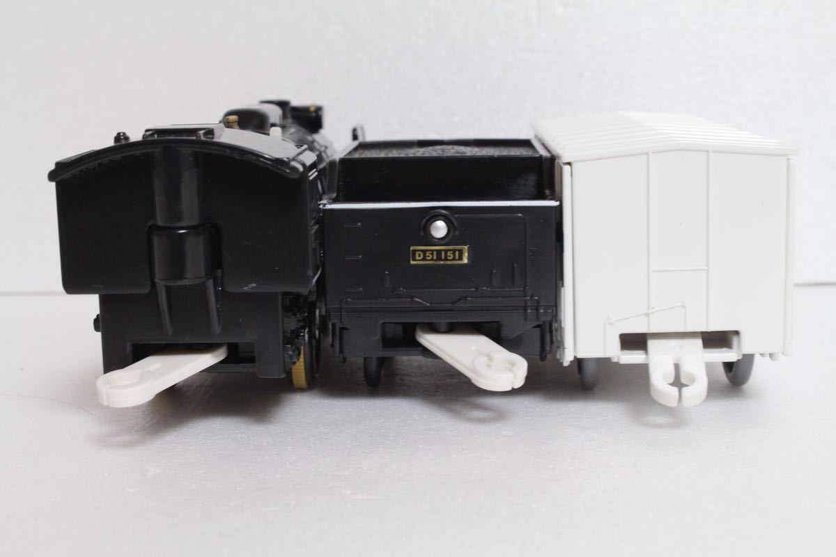プラレール ライト付 D51 151号機 蒸気機関車 レム5000 中古 清掃済 動作確認済 即決_画像3