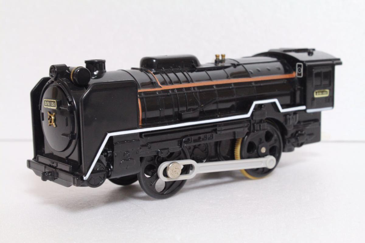 プラレール ライト付 D51 151号機 蒸気機関車 レム5000 中古 清掃済 動作確認済 即決_画像8