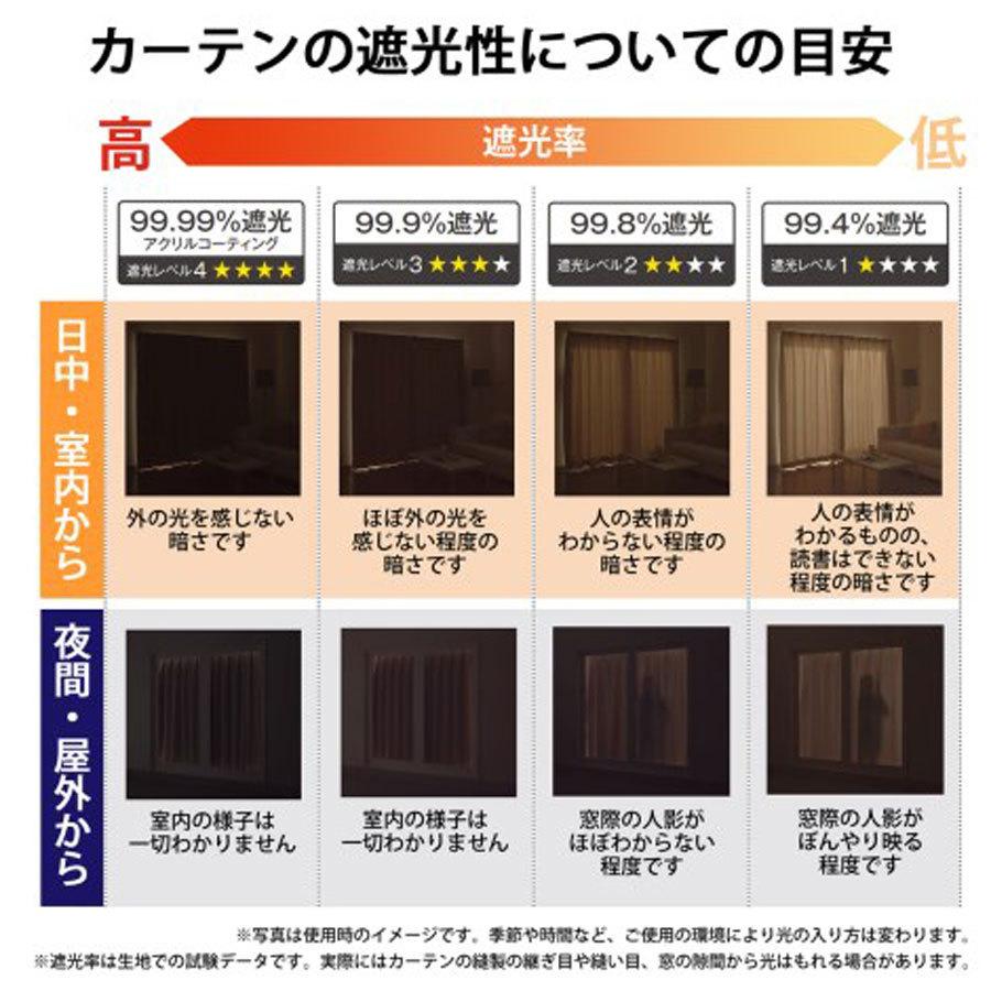 【1枚】防炎 2級遮光 形状記憶 ドレープカーテン ベージュ☆幅200×丈178cm☆Nicola-200-178BE ユニベール_商品は幅150×丈220cmのカーテンです