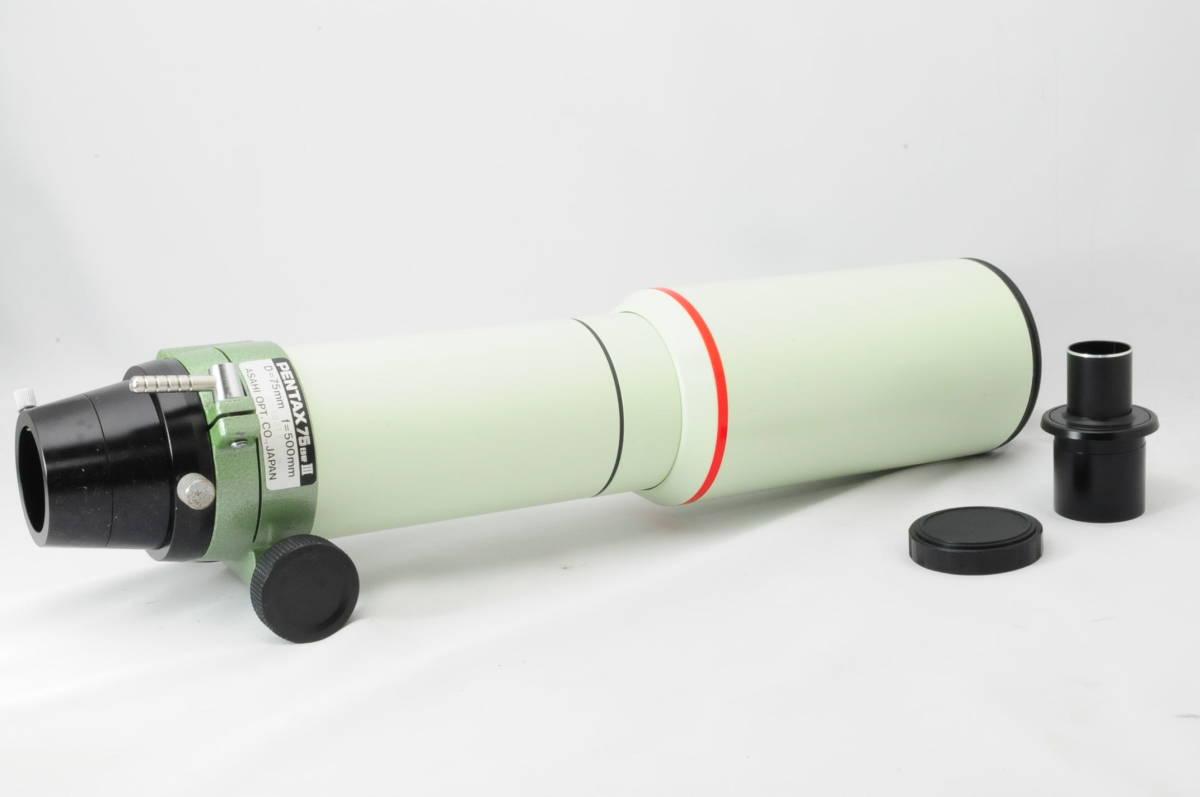 PENTAX 75EDHFⅢ SMC ED APOCHROMAT D=75mm f=500mm ASAHI OPT 天体望遠鏡 ファインダー 鏡筒 ペンタックス th_A103_画像2