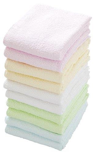 [Lowest price declaration] economical color towel 5-color 10-Pack