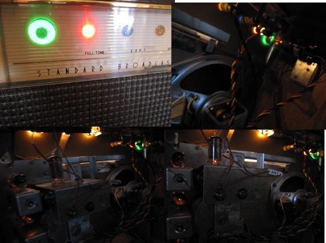 ☆先ほどまで未使用でした。希少 レトロ ビンテージ アンティーク 真空管ラジオ RADIO コロンビア 型式1400-3 当時物箱付き☆_画像7