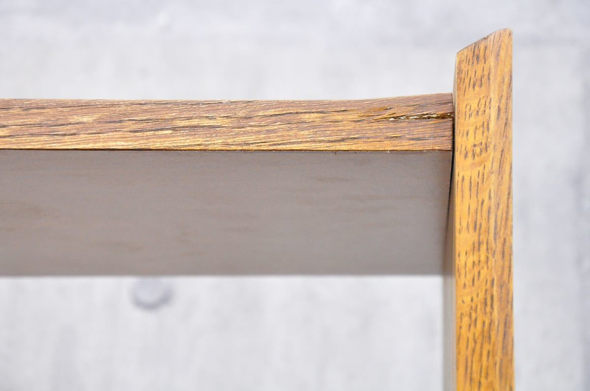 K4X 短期展示品 unico ウニコ SIGNE シグネ トールシェルフ ブラウン 9.7万 オーク 北欧スタイル ブックシェルフ 飾り棚 リビングボード_画像8