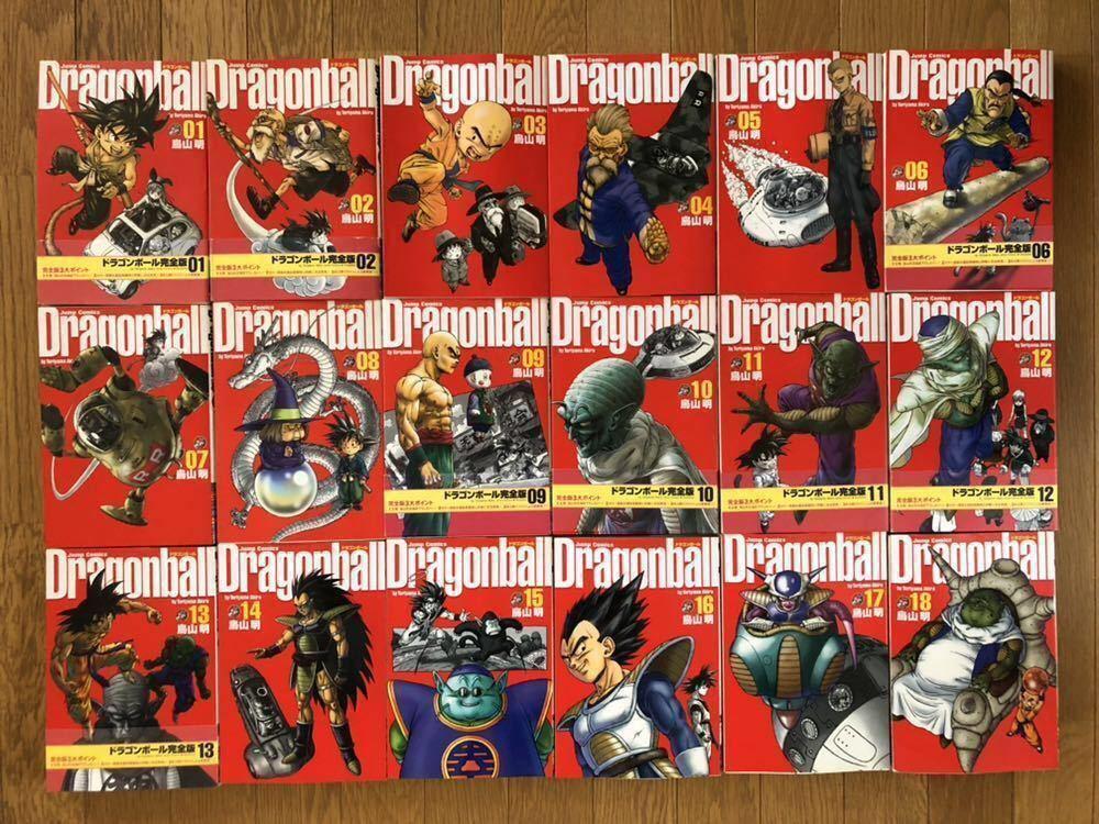 【完全版*全巻セット*】DRAGON BALL(ドラゴンボール)/ 鳥山明■1~34巻 / 完結■除菌済み■JUMP COMICS / 集英社■_画像6
