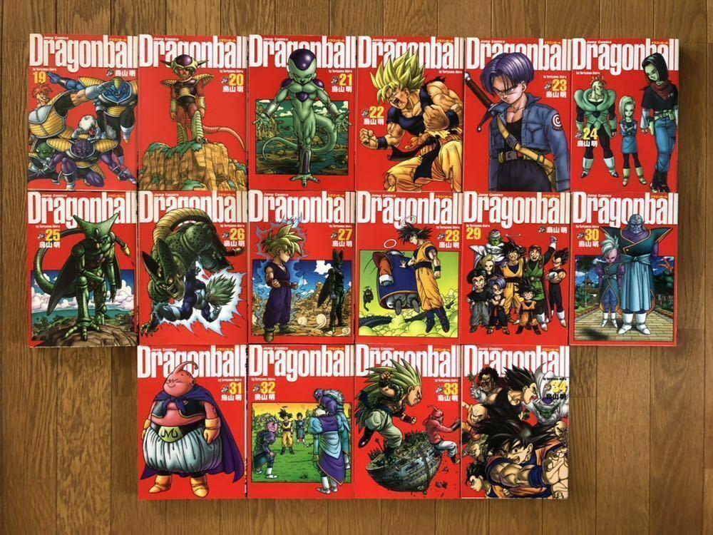 【完全版*全巻セット*】DRAGON BALL(ドラゴンボール)/ 鳥山明■1~34巻 / 完結■除菌済み■JUMP COMICS / 集英社■_画像7