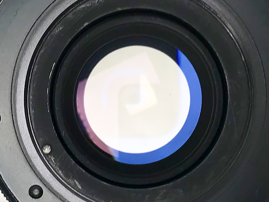 ペンタコン オート 135mm【分解清掃済み・撮影チェック済み】PENTACON auto F2.8 135mm M42 _02a_画像10