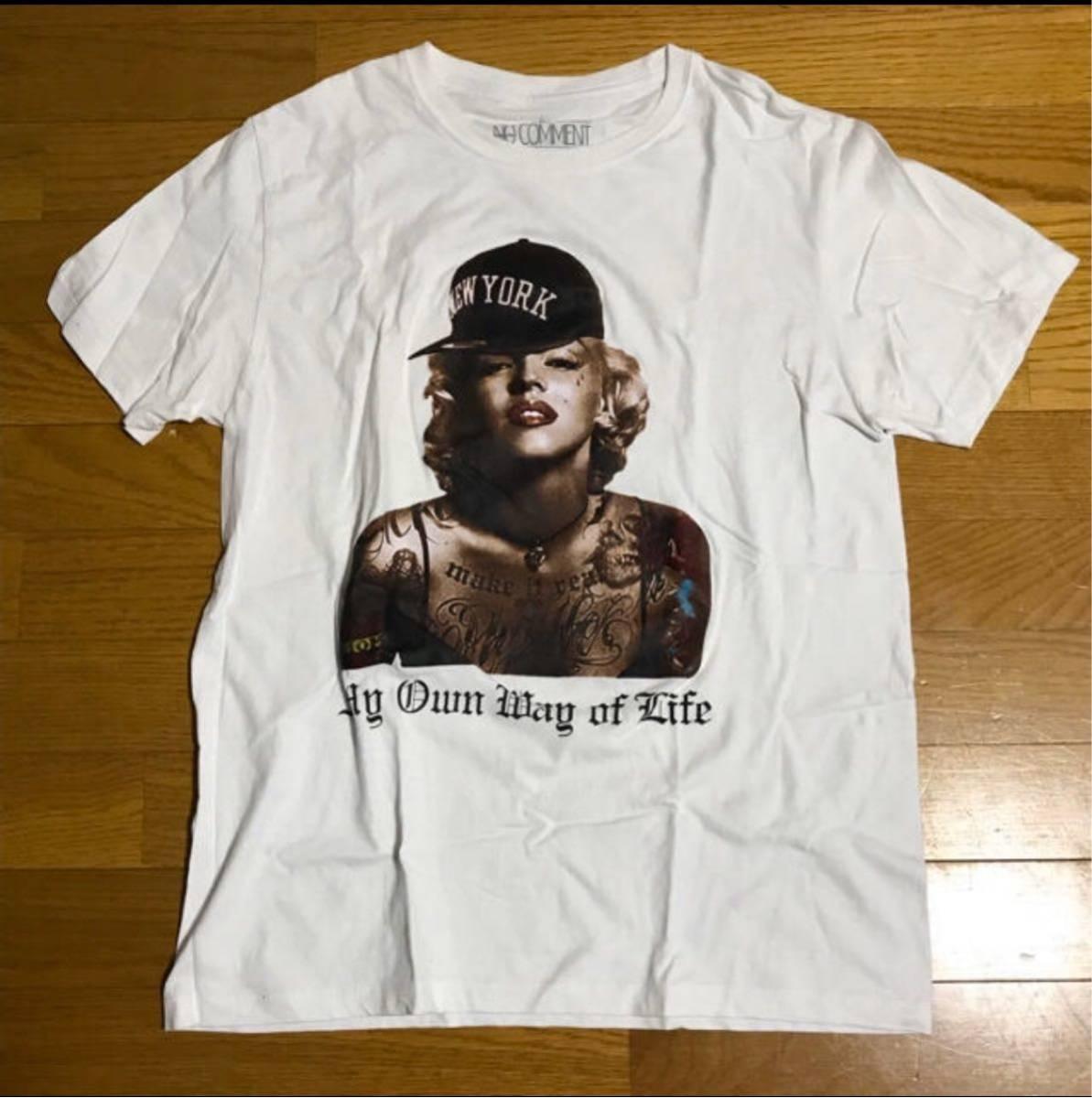 マリリンモンロー TATTO NY ニューヨーク Tシャツ Mサイズ