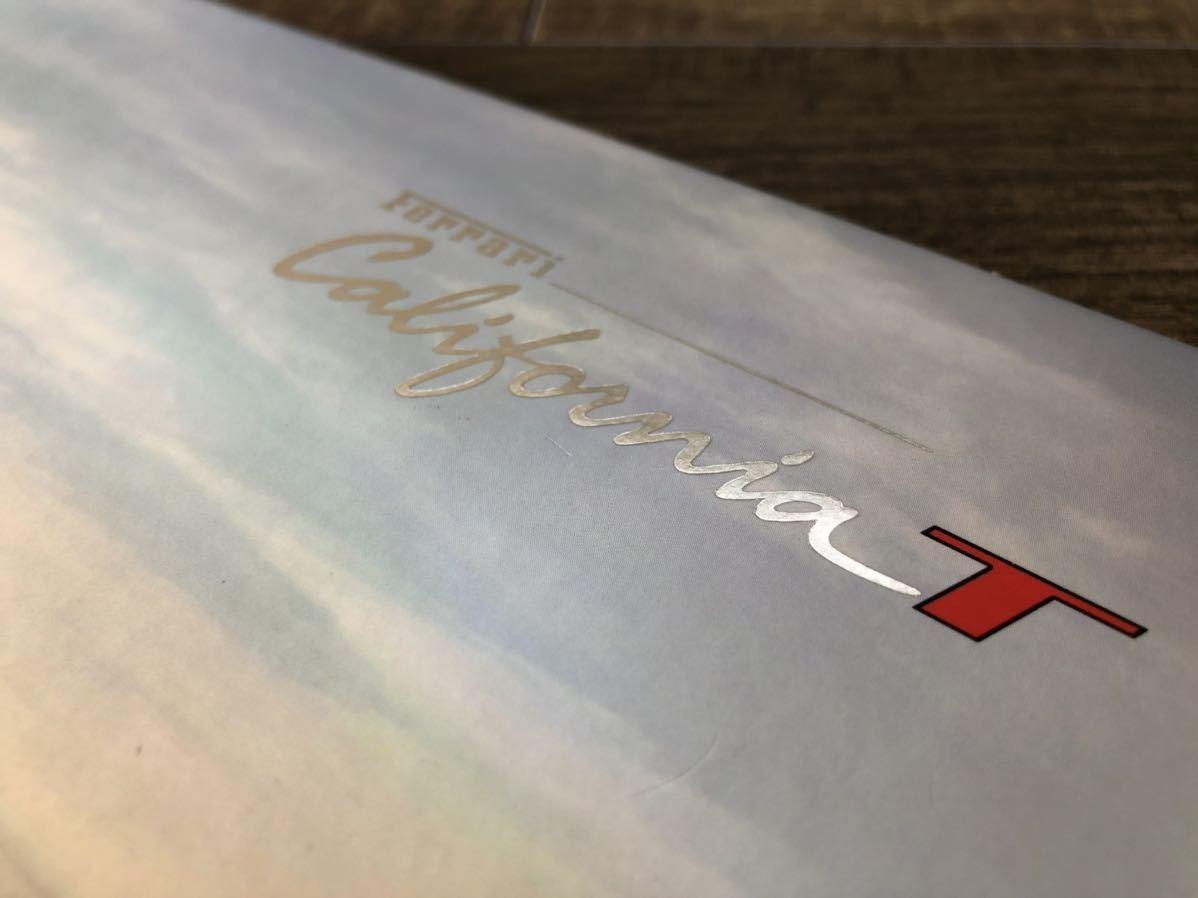 ☆FERRARI フェラーリ カリフォルニアT 純正カタログ 日本語正規版☆_画像3