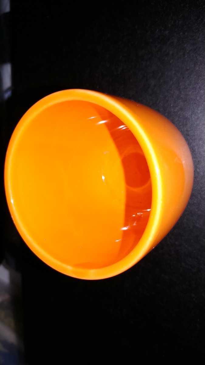 一個物カワイイオレンジミニカップ_画像2