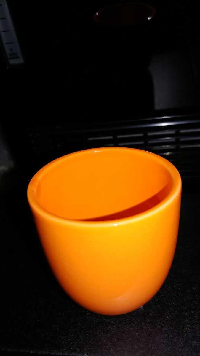 一個物カワイイオレンジミニカップ_画像1
