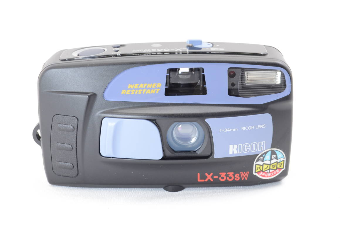 【ecoま】リコー RICOH LX-33sW DATE no.BS299470 コンパクトフィルムカメラ_画像1