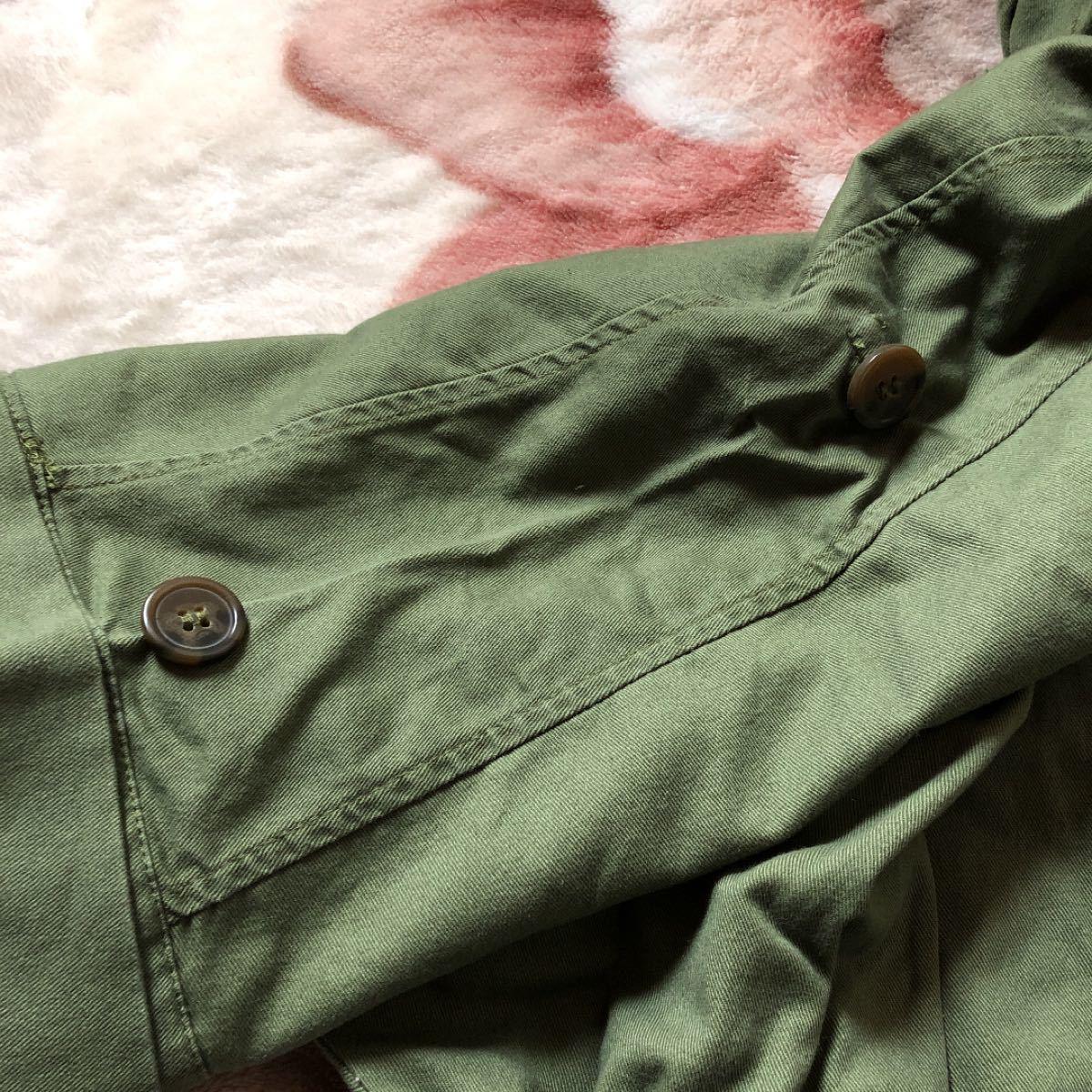ミリタリージャケット 七分袖