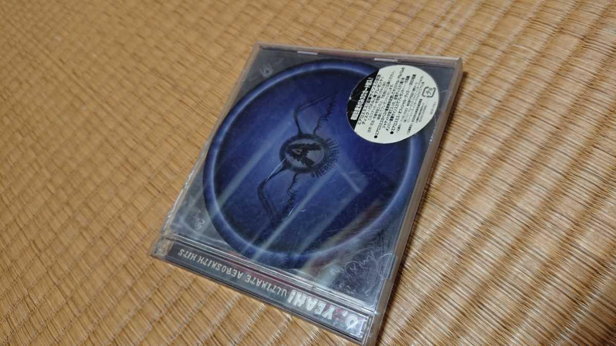 初回盤★エアロスミス アルティメット・エアロスミス・ヒッツ★2CD 初回限定盤