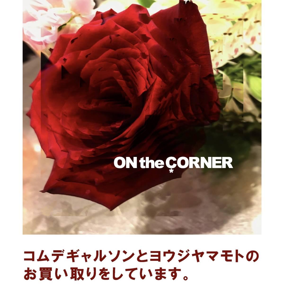ONtheCORNER ITEM No.165/YohjiYamamoto ヨウジヤマモト NO FUTURE ドクターコート 20ss size:3 ノーフューチャー ロゴ 新品未使用_画像8