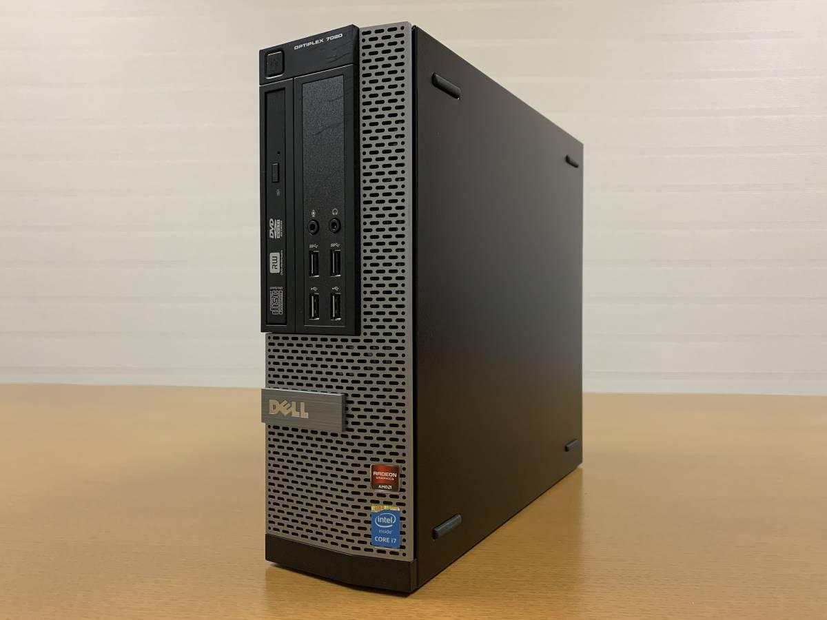 Dell OptiPlex 7020 SFF Core i7-4790/M.2 SSD 250GB+HDD 2TB/RAM 32GB/Radeon R7 250