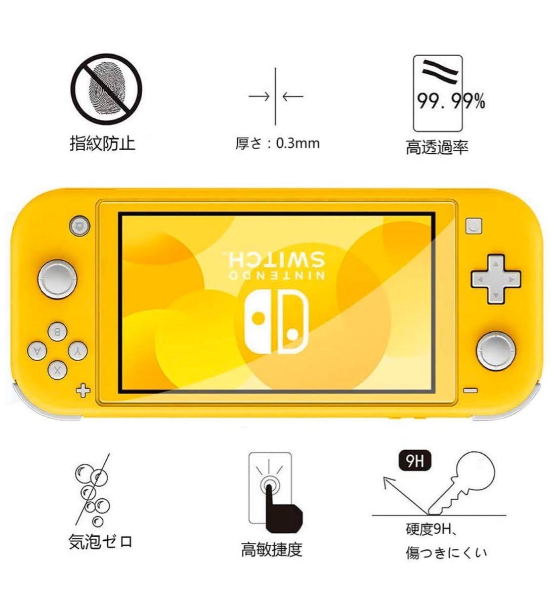 Nintendo Switch Lite 液晶保護フィルム 2枚入り 任天堂