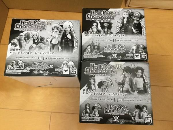 【未開封BOX】ワンピース/ONE PIECE★Half Age Characters Vol.1 2 3セット★ハーフエイジキャラクターズ デフォルメーションフィギュア_画像4