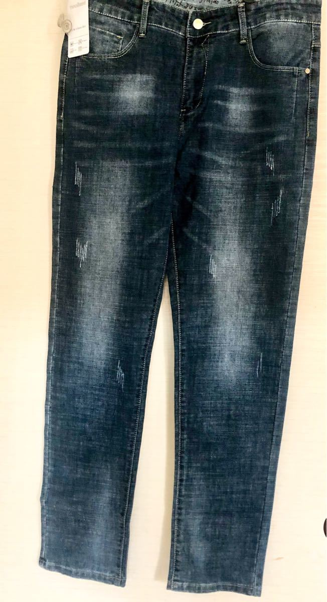 新品/ ジーンズ メンズ デニム Gパン ジーパン ズボン ロングパンツ