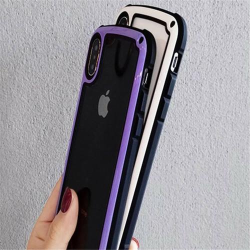 【送料無料】【ブラック iphone7/8】iphoneケース シンプル バイカラー カラーフレーム 防塵 保護 フィット感 滑らない zvpa 595_画像8