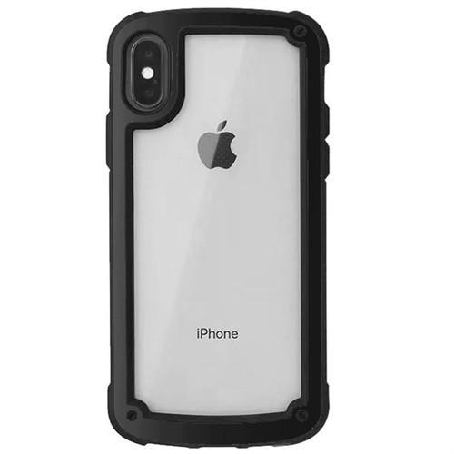 【送料無料】【ブラック iphone7/8】iphoneケース シンプル バイカラー カラーフレーム 防塵 保護 フィット感 滑らない zvpa 595_画像3