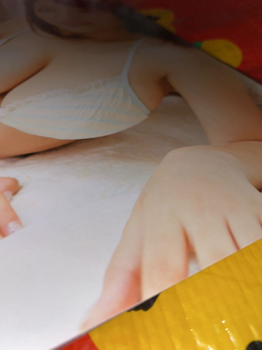 ☆漫画アクション 2013年 No.6 87㎝の歌姫 巻頭グラビア 篠崎愛 水着_画像5