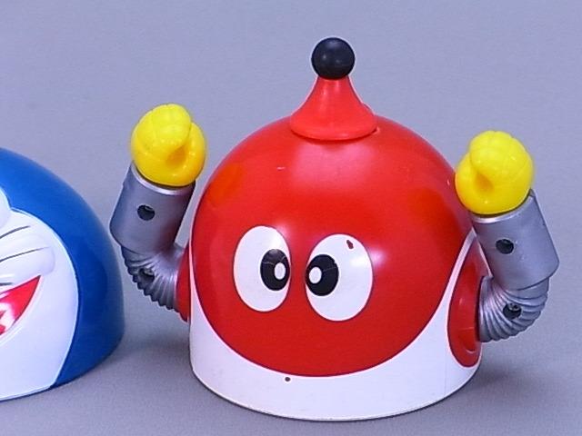 #45-9【日本栄養食品】ドラえもん・ドラミちゃん・8ちゃんのふりかけ容器のふた3個セット_画像4
