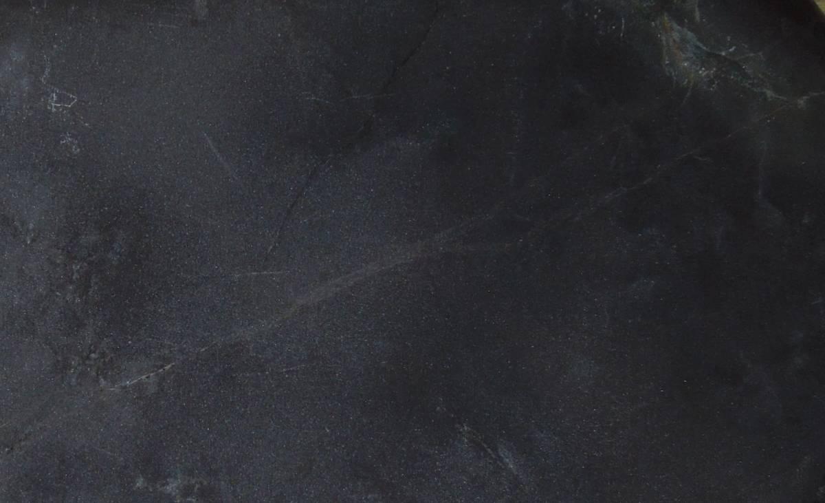 書道具 硯 端渓 老坑? 金線銀線  約13.7cm×8.8cm_画像6