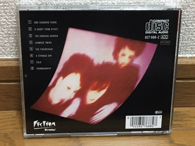 THE CURE / Pornography ポストパンク ゴシック・ロック サイケ 名盤 輸入盤(品番:8276882) 廃盤 Depeche Mode / The Smith / Joy Division_画像2