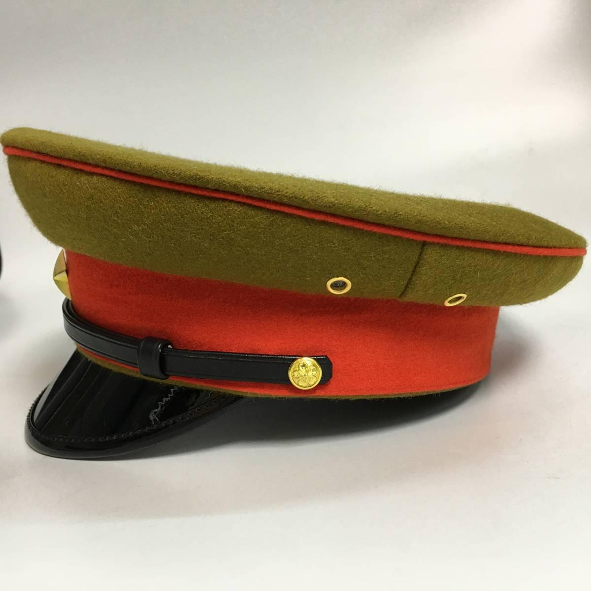 旧日本軍 陸軍将校用制帽 四五式軍帽 ウール製 57cm、58cm、59cm、60cm、61cm レプリカ_画像2