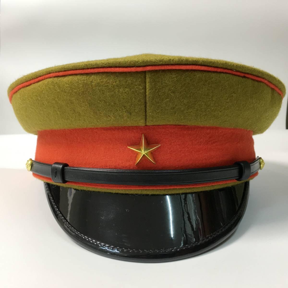 旧日本軍 陸軍将校用制帽 四五式軍帽 ウール製 57cm、58cm、59cm、60cm、61cm レプリカ_画像1