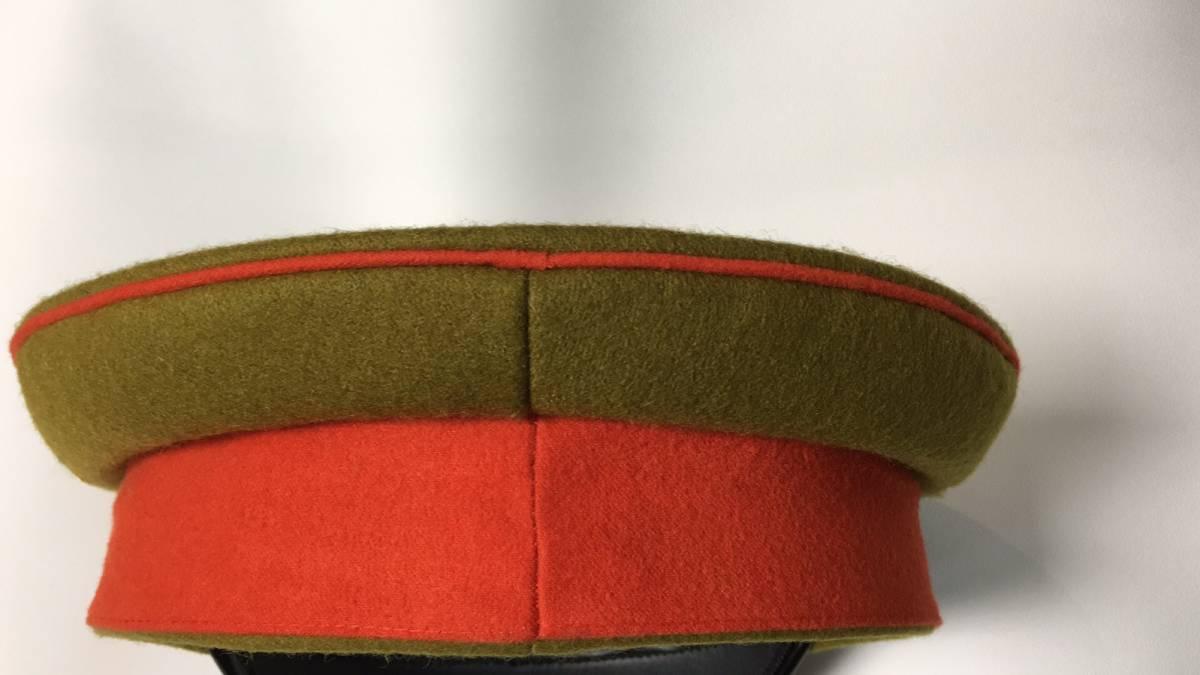 旧日本軍 陸軍将校用制帽 四五式軍帽 ウール製 57cm、58cm、59cm、60cm、61cm レプリカ_画像4