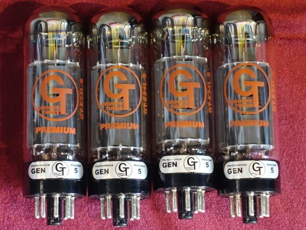【真空管/スロバキア】 GROOVE TUBES GT-E34L-SQ-M マッチドクワッド その1_画像3