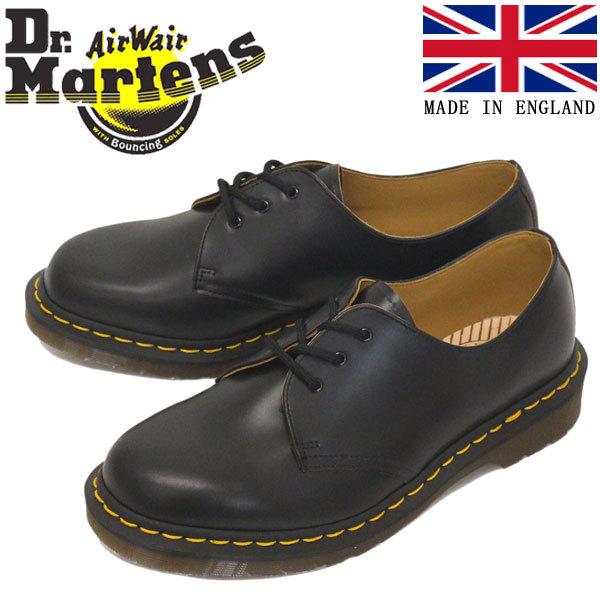 正規 Dr.Martens (ドクターマーチン) 12877001 VINTAGE 1461 3EYE SHOE ヴィンテージ レザーシューズ BLACK イングランド製 UK9-約28.0cm_Dr.Martensドクターマーチン正規取扱店THRE