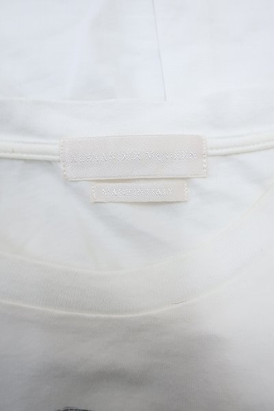 4T8155【クリックポスト対応】アレキサンダーマックイーン 半袖スカルTシャツ イタリア製 ALEXANDER MCQUEEN_画像4