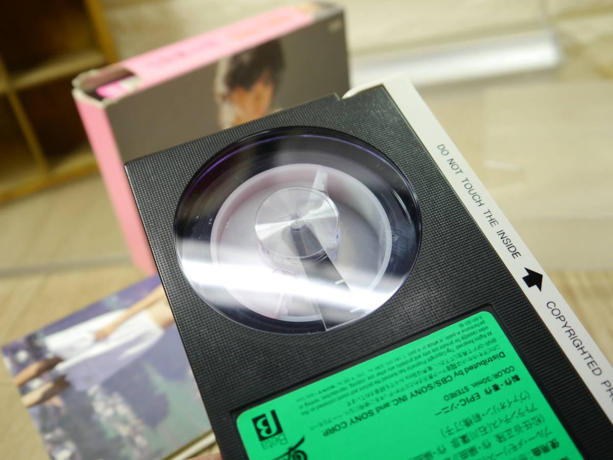 ◆希少品◆川上麻衣子 三つの国 紀信シアター 篠山紀信 &危険な童話 βビデオ  2本セット◆ベータビデオテープ _画像4