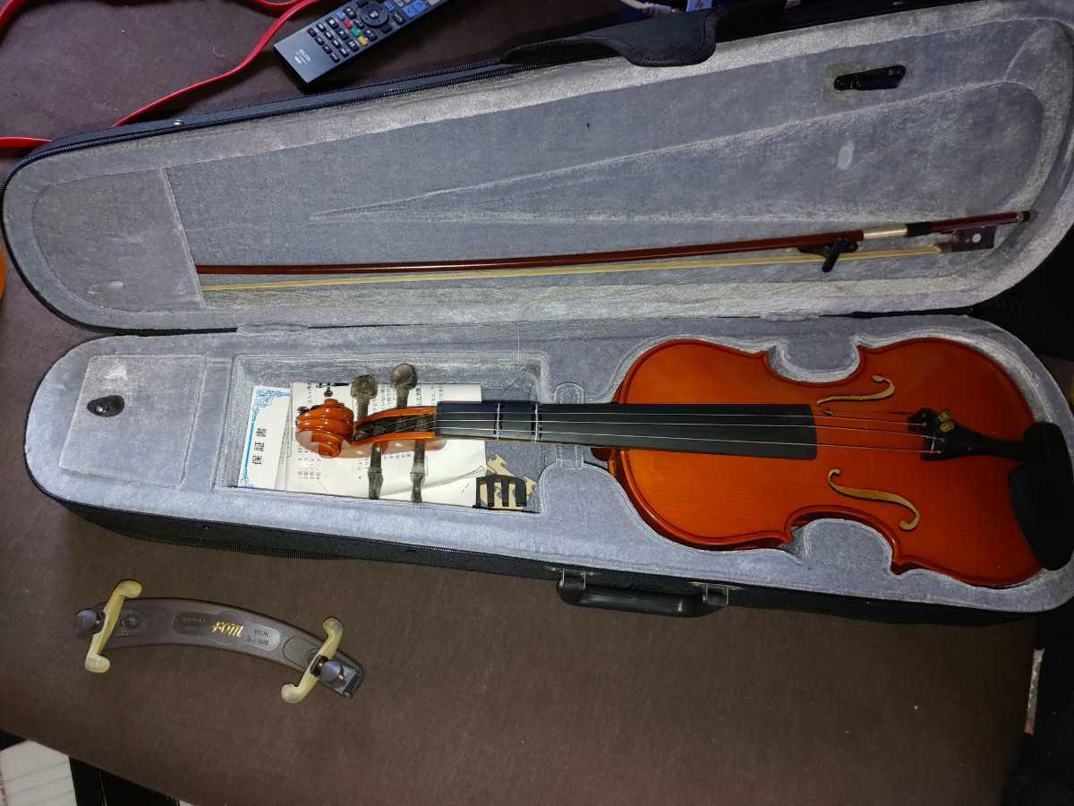 バイオリン 本体セット 弦 ハードケース 弓 キョーリツコーポレーション_画像6