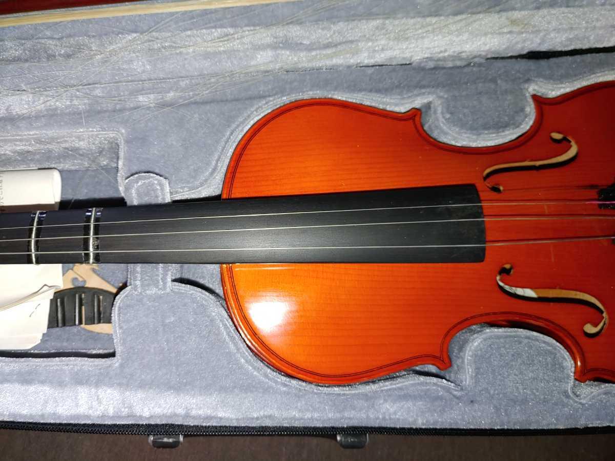 バイオリン 本体セット 弦 ハードケース 弓 キョーリツコーポレーション_画像7