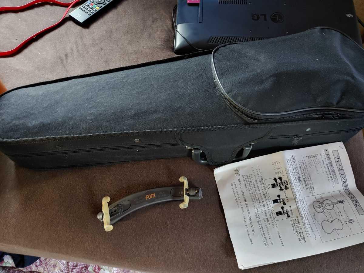 バイオリン 本体セット 弦 ハードケース 弓 キョーリツコーポレーション_画像2