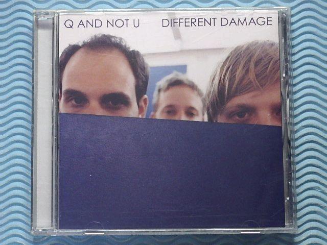 [輸入盤]Q and Not U「ディファレント・ダメージ/Different Damage」キュー・アンド・ノット・ユー/2002年/2ndアルバム/ポストパンク/名盤_画像1